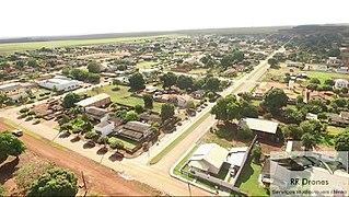 Santa Rita do Trivelato Municipality in Center-West, Brazil