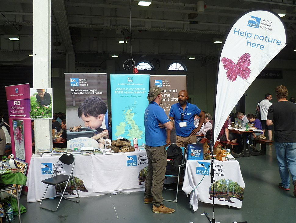 RSPB at the Great British Beer Festival 2016