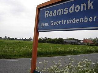 Raamsdonk Village in North Brabant, Netherlands