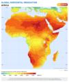 Radiation Solaire Horizontal sur l'Afrique.png