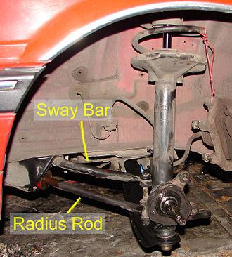 Radius rod - 280ZX front suspension