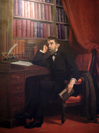 Rafael Núñez (politician) - 1891 oil painting by Epifanio Garay