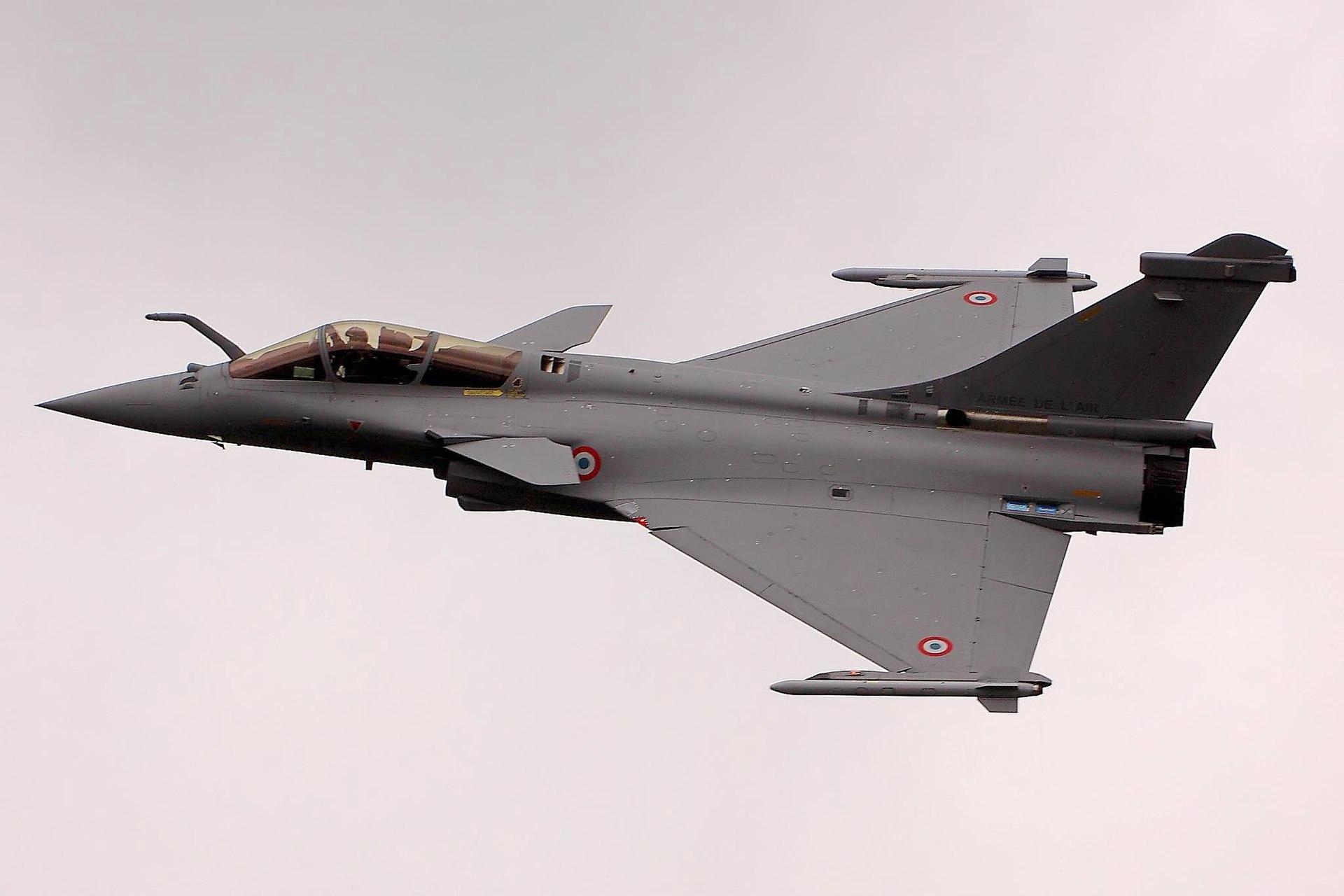Rafale C de l'Armée de l'air française.