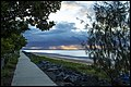 Rain squalls over Deception Bay-1 (18725164916).jpg