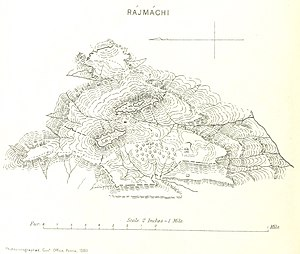 Rajmachi Maharashtra India forts map.jpg