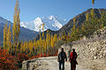 Rakaposhi peak view in autumn near Ali abad Hunza.jpg