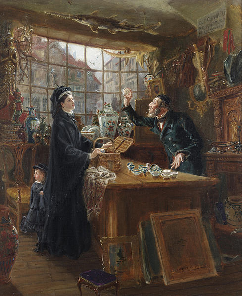 File:Ralph Hedley The old china shop 1877.jpg