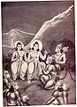 Rama Sugriva disscussion about to reach lanka.jpg