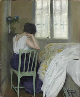 Ramon Casas i Carbó, 1900c - Las horas tristas (The sad hours)