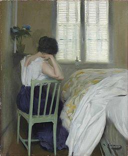Ramon Casas i Carbó, 1900c - Las horas tristas (The sad hours)