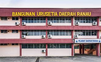 Ranau District - Ranau District Office.