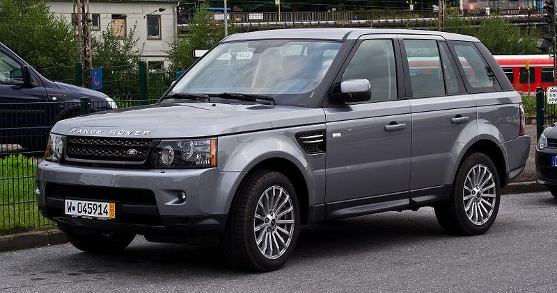 File:Range Rover Sport SDV6 SE (Facelift) – Frontansicht, 5. September 2012, Wuppertal.jpg