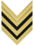 Rank insignia of sergente maggiore of the Italian Army (1940).png