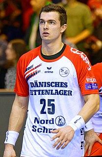 Rasmus Lauge Danish handball player