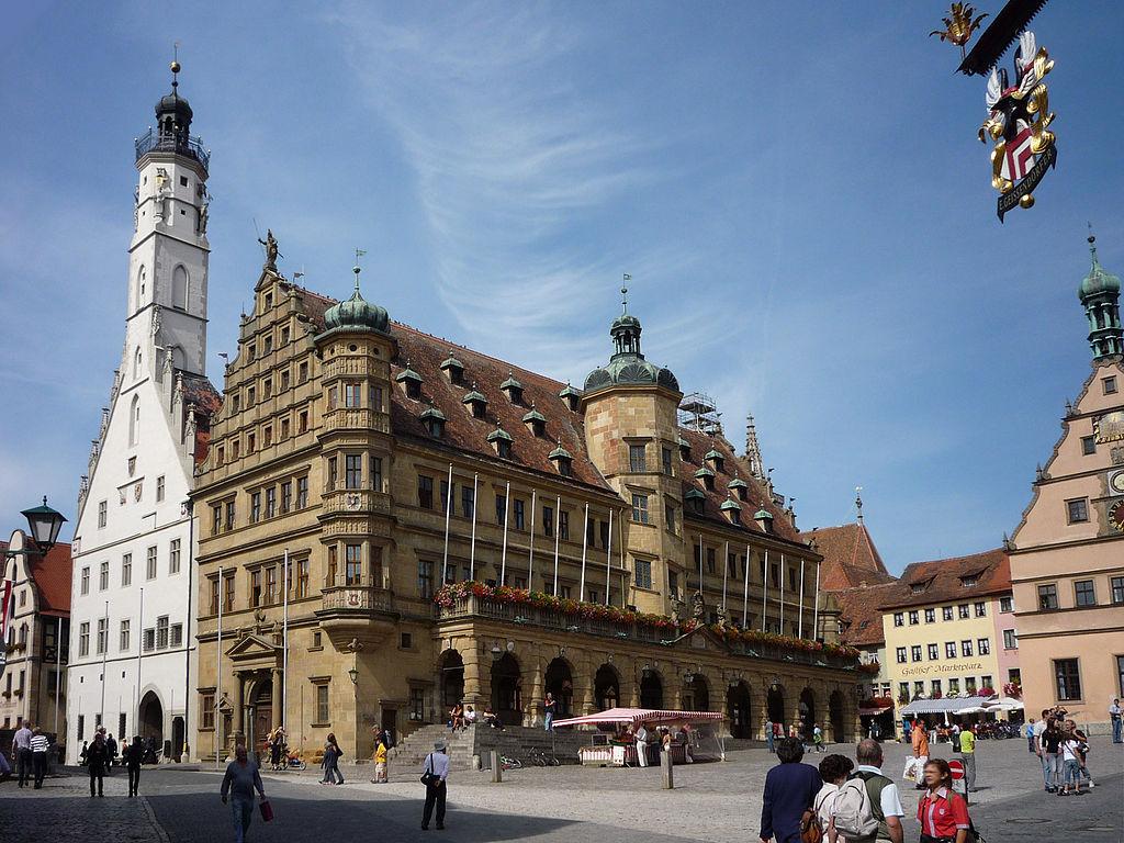 Rathaus & Marktplatz Rothenburg Tauber 029-vBh