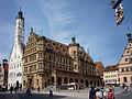 Rathaus & Marktplatz Rothenburg Tauber 029-vBh.jpg