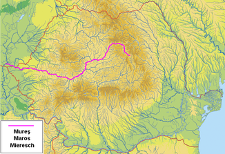 The Mureș in Romania and Hungary