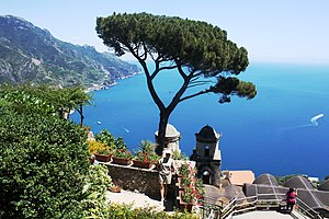 Ravello - View of Amalfi Coast from Ravello.