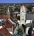 Ravensburg vom Blaserturm 2011 Frauentor.jpg