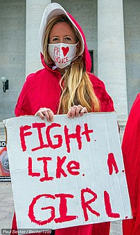 Red Cloak Protest for Women's Rights 10.25.20- Columbus, OH (Statehouse) bIMG 9600 (50531433946).jpg
