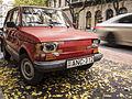 Red Polski Fiat 126p in Budapest.jpg