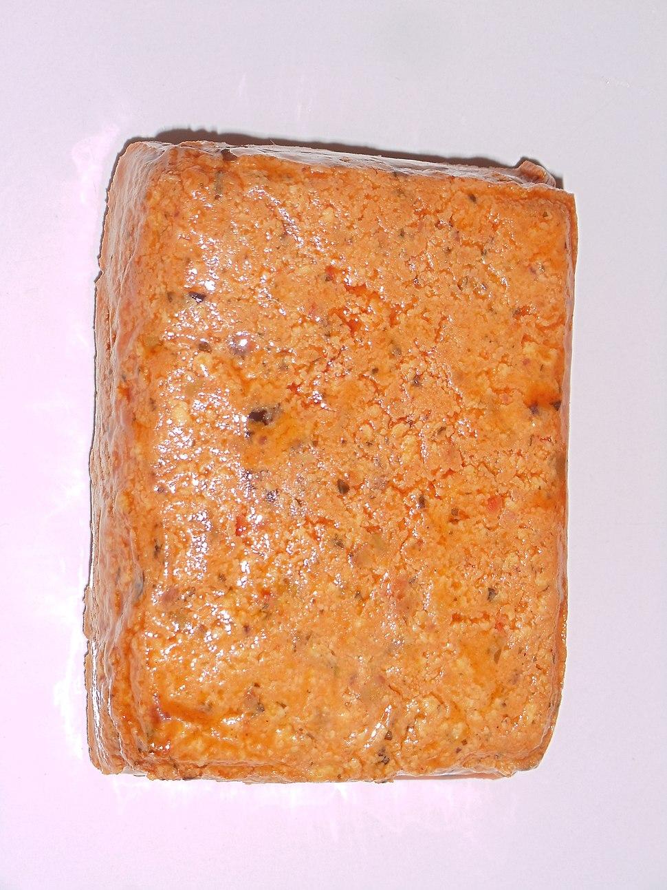 Red tofu