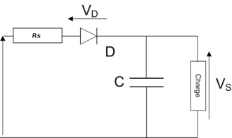 Circuit détecteur d\'enveloppe — Wikipédia