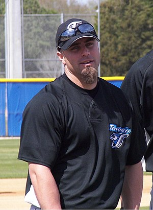 Reed Johnson - Johnson with the Toronto Blue Jays in 2007