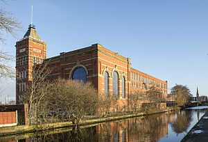 Russell Hobbs - Regent Mill at Fir Street in Failsworth, next to the Rochdale Canal