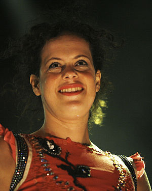 Régine Chassagne - Régine Chassagne on stage, July 2007