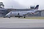 Regional Express Airlines (VH-ZRM) Saab 340B taxiing at Wagga Wagga Airport.jpg