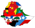 Regions of Ethiopia with flags 2020.png