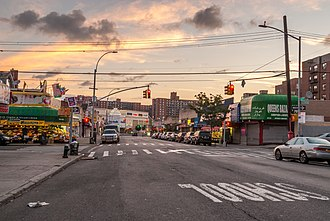 Rego Park, Queens - 63rd Drive in Rego Park (August 2016)