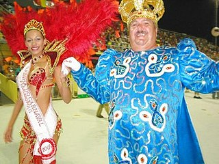 King Momo the king of Carnivals in numerous Latin American festivities