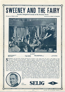 Release flier for SWEENEY AND THE FAIRY, 1913.jpg
