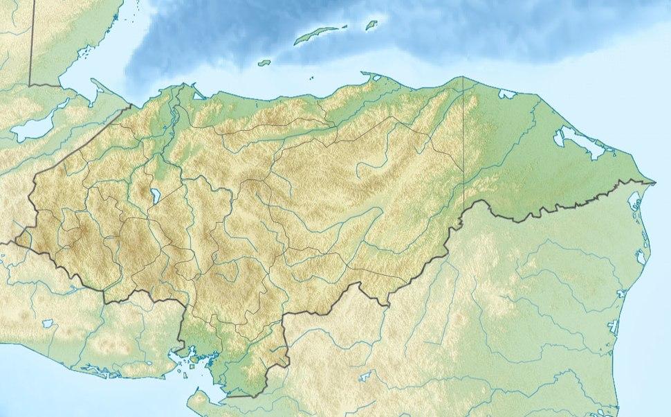 Tegucigalpa is located in Honduras