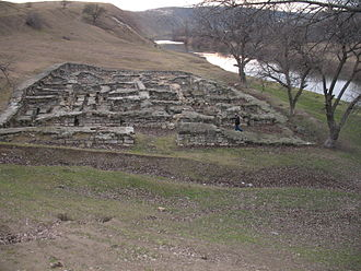 Orhei District - Remains of Golden Horde bath
