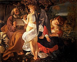 Caravaggio: Rest on the Flight into Egypt