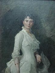 Retrat de Matilde Buxó de Caba, esposa del pintor