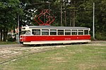 Retrotramvaj T2 1435 na lince č. 5 (8).jpg