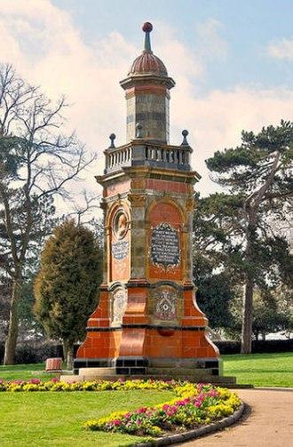 Richard Eve - Image: Richard Eve Monument 1902