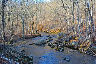 Ridley Creek State Park - The creek in November, 2013