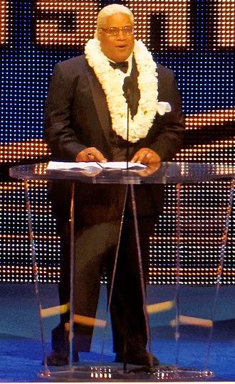 WWE Hall of Fame (2015) - Image: Rikishi Hall of Fame 2015