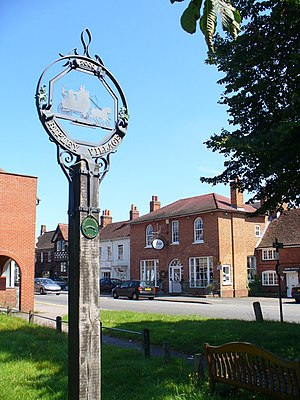 Ripley, Surrey - Image: Ripley Village Sign geograph.org.uk 518350