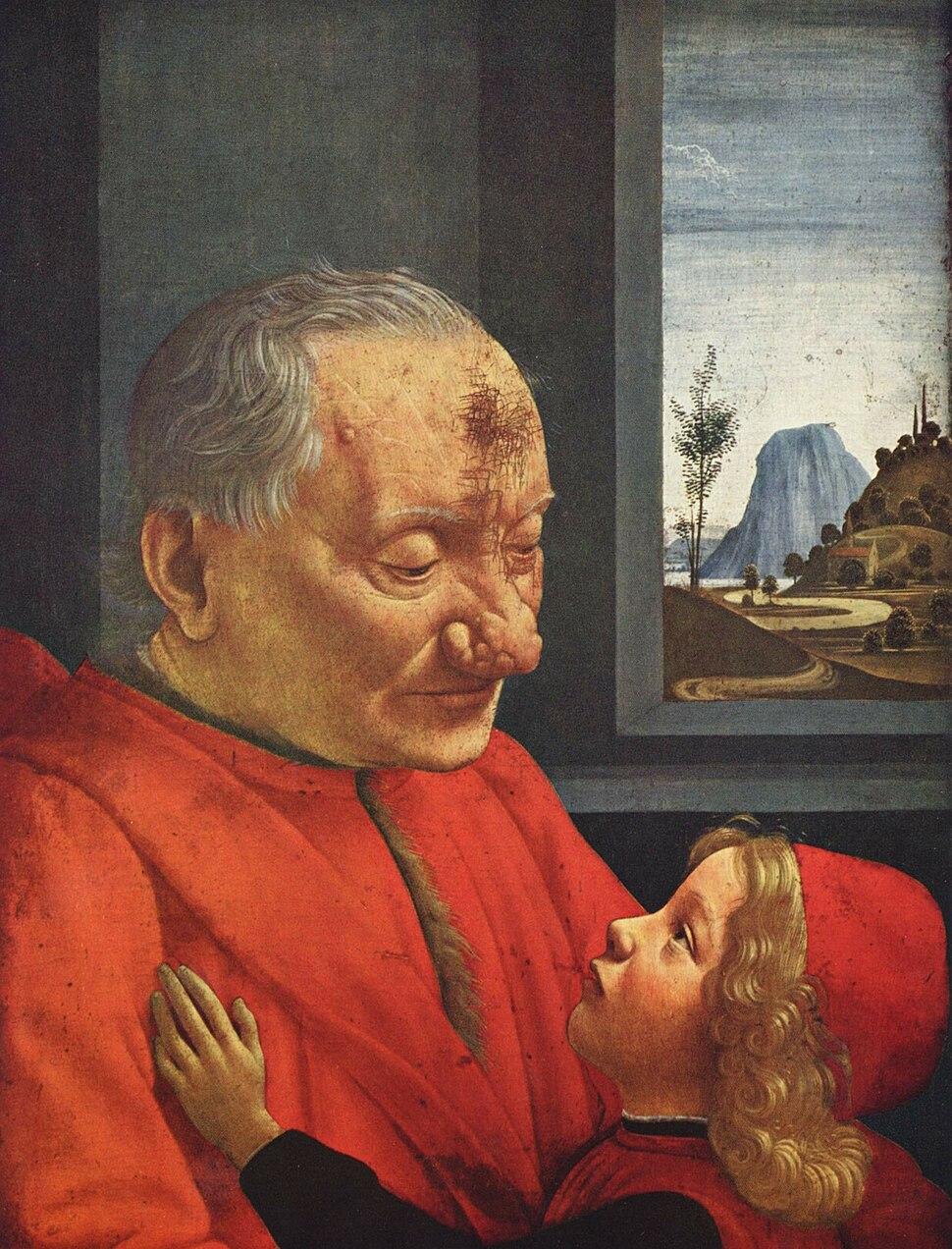 Ritratto di vecchio con nipote 2,024 × 2,654 pixels 463 KB