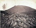 Rive, Roberto (18..-1889) - n. 0296 - Napoli - Il cono con la lava del Vesuvio.jpg
