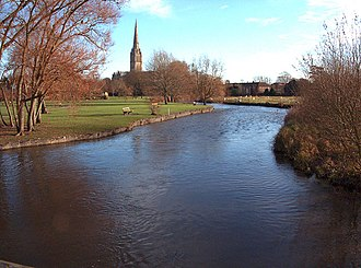 River Avon, Hampshire - The River Avon in Salisbury