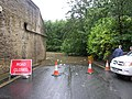 Road closed at Thornhill Briggs, Brighouse - geograph.org.uk - 477290.jpg