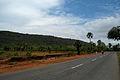Road towards Visakhapatnam at Bheemunipatnam.JPG