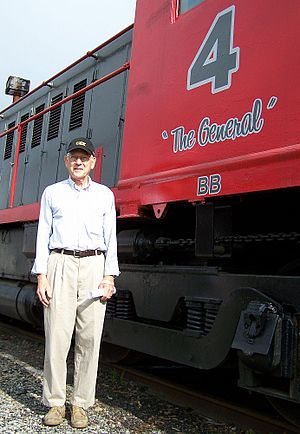 Buckingham Branch Railroad - Robert Bryant, owner of the BB Railroad